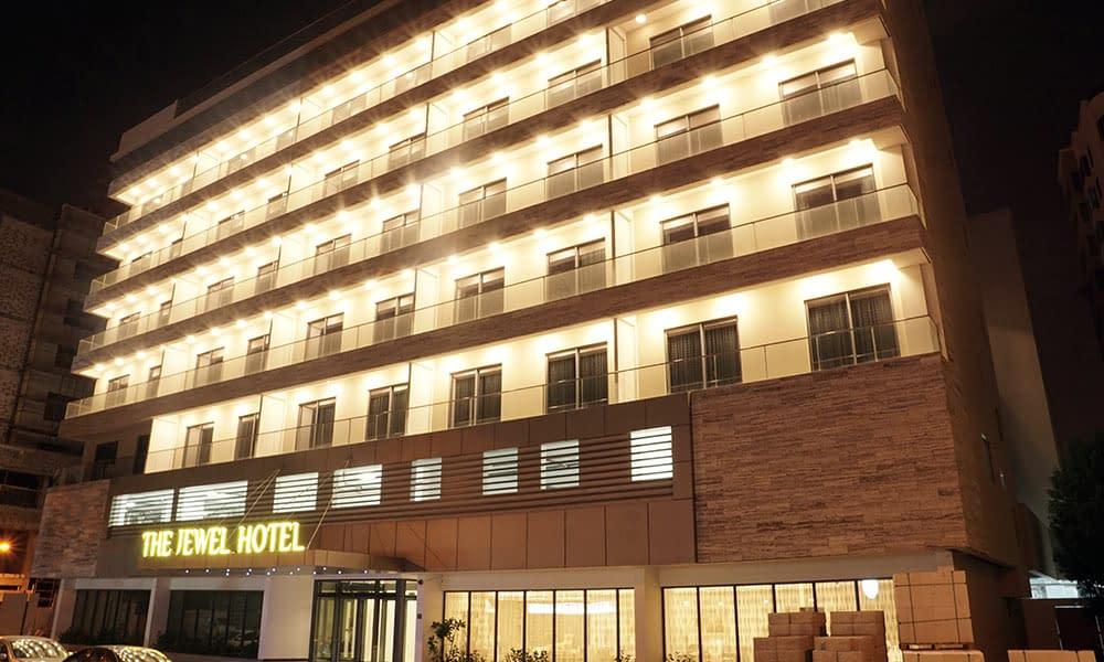 Hotel Facade-Night