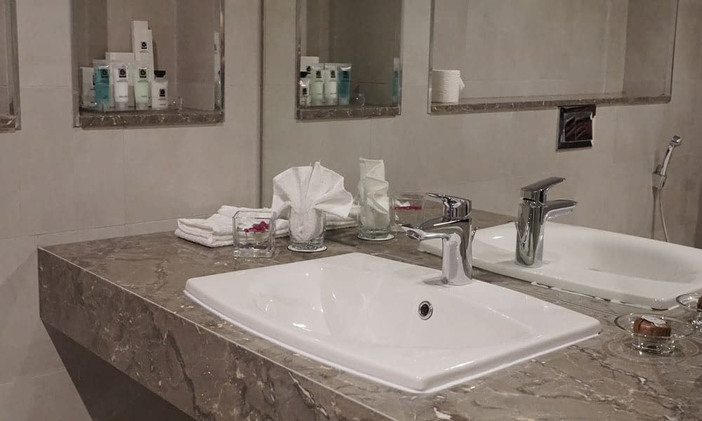 Modern Bathroom with Personal Amenities (All Room Types)