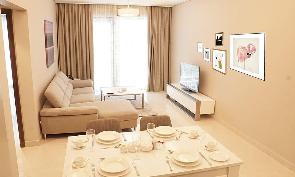 Three Bedroom Jewel Suite Sitting Room