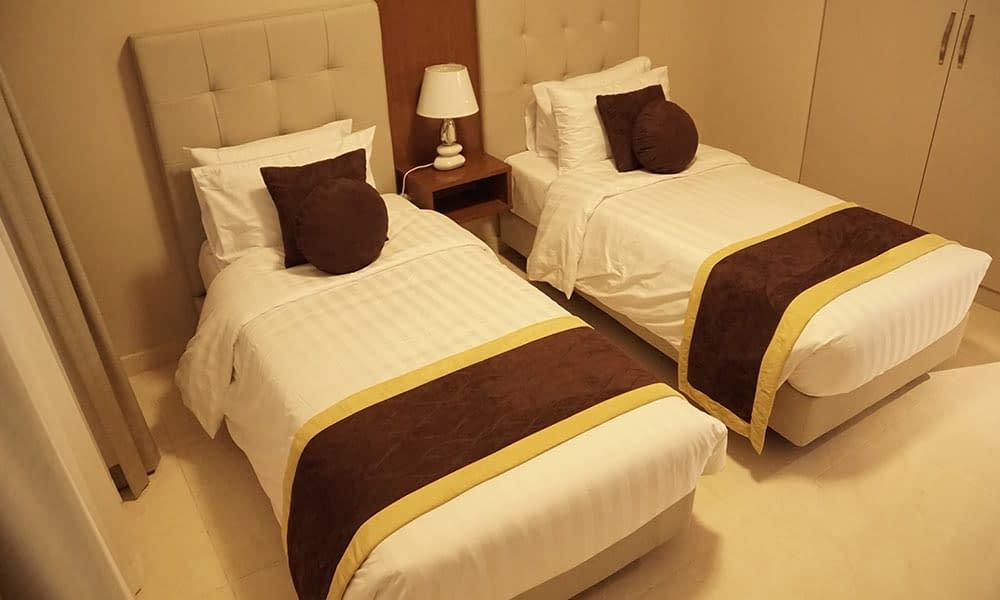 Two Bedroom Executive Suite Bedroom (Twin type)