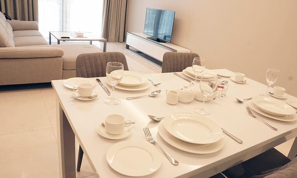 Three Bedroom Jewel Suite Dining Area