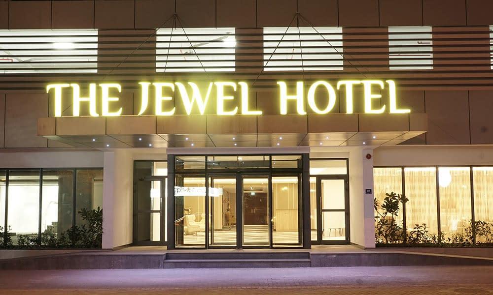 Hotel Entrance Night