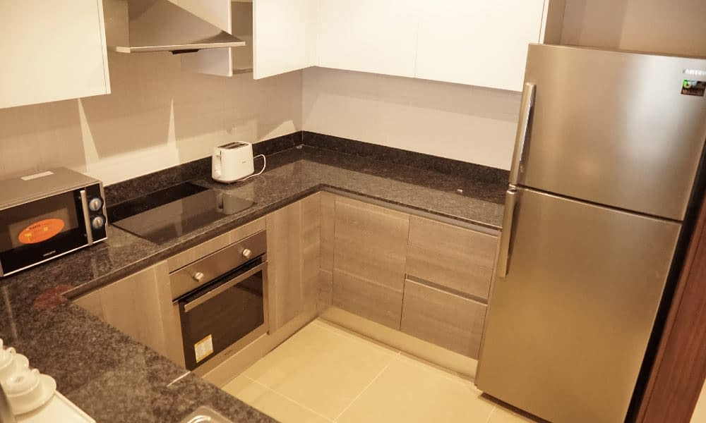 Two Bedroom Executive Suite Kitchenette