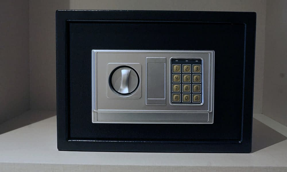In Room Electronic Safe (For All Room Types)