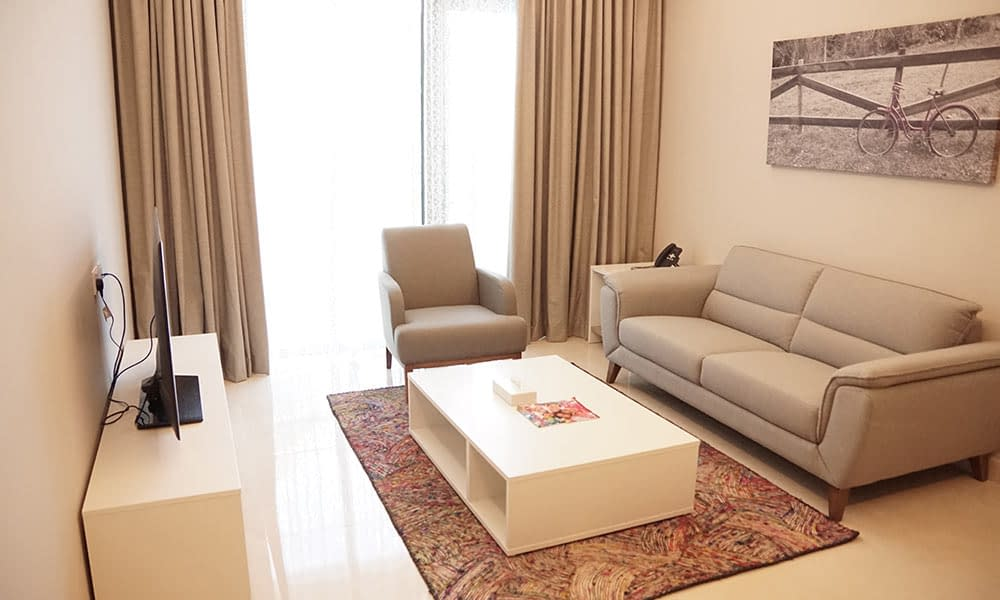 Two Bedroom Executive Suite Sitting Room
