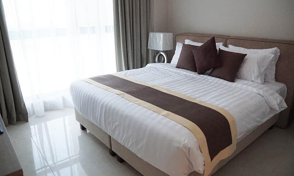 One Bedroom Deluxe Suite Bedroom