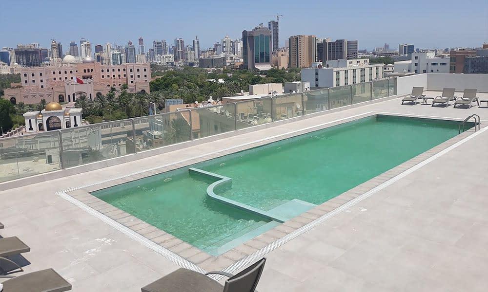 Roof Top Swimming Pool